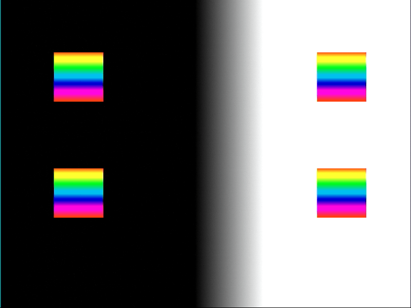 yay, a perfectly coded test card
