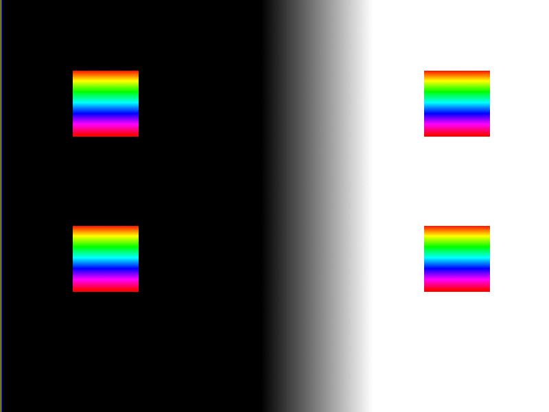 The test card I made