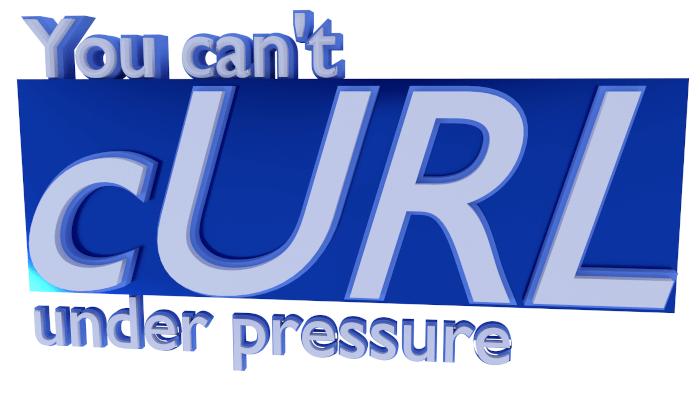you cannot curl under pressure logo