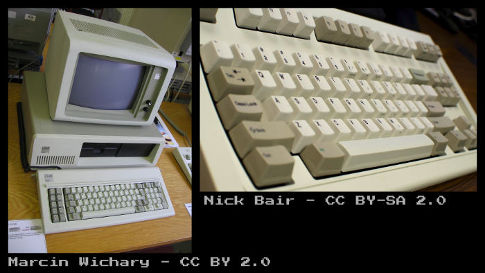 old DOS computers